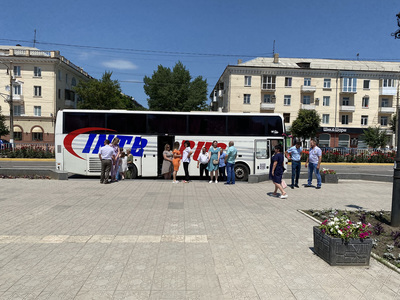 Билеты на автобус Стаханов-Сочи от компании Интербус - main